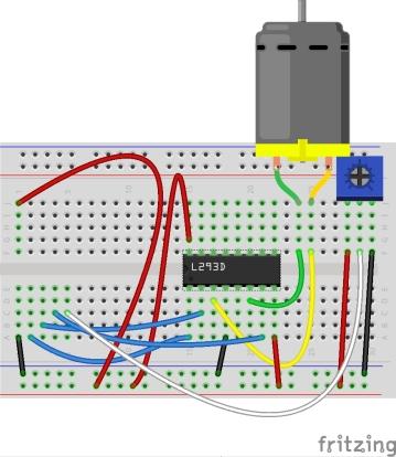 MicrobitDCmotorReverse